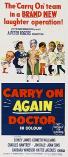Carry On Again Doctor - Australian Movie Poster (xs thumbnail)
