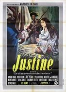 Marquis de Sade: Justine - Italian Movie Poster (xs thumbnail)