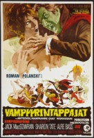 Dance of the Vampires - Finnish Movie Poster (xs thumbnail)