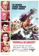 Flight from Ashiya - Spanish Movie Poster (xs thumbnail)