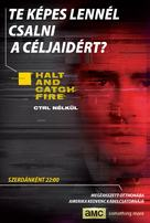 """Halt and Catch Fire"" - Hungarian Movie Poster (xs thumbnail)"