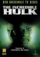 """The Incredible Hulk"" - Danish DVD movie cover (xs thumbnail)"