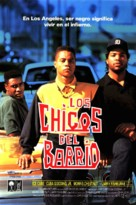 Boyz N The Hood - Spanish VHS cover (xs thumbnail)
