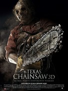 Texas Chainsaw Massacre 3D - French Movie Poster (xs thumbnail)
