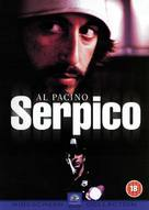 Serpico - British DVD cover (xs thumbnail)