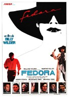Fedora - Spanish Movie Poster (xs thumbnail)
