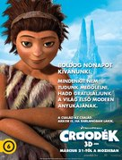 The Croods - Hungarian Movie Poster (xs thumbnail)