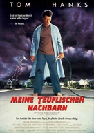 The 'Burbs - German Movie Poster (xs thumbnail)