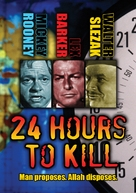 Twenty-Four Hours to Kill - DVD cover (xs thumbnail)