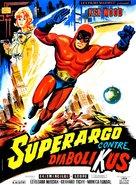Superargo contro Diabolikus - French Movie Poster (xs thumbnail)