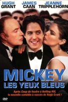 Mickey Blue Eyes - French DVD cover (xs thumbnail)
