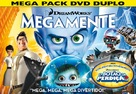 Megamind - Brazilian DVD cover (xs thumbnail)