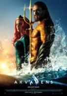 Aquaman - Latvian Movie Poster (xs thumbnail)