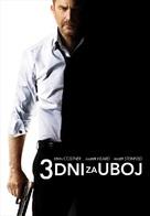 Three Days to Kill - Slovenian Movie Poster (xs thumbnail)