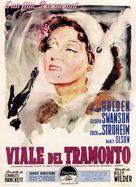 Sunset Blvd. - Italian Movie Poster (xs thumbnail)
