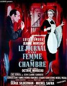 Le journal d'une femme de chambre - French Movie Poster (xs thumbnail)