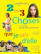 2 ou 3 choses que je sais d'elle - French Re-release movie poster (xs thumbnail)