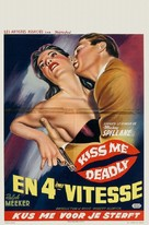 Kiss Me Deadly - Belgian Movie Poster (xs thumbnail)