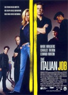 The Italian Job - Italian Movie Poster (xs thumbnail)