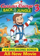 Curious George 3: Back to the Jungle - DVD movie cover (xs thumbnail)