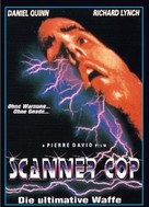 Scanner Cop - German VHS cover (xs thumbnail)