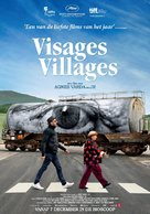Visages, villages - Dutch Movie Poster (xs thumbnail)