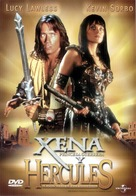 Hercules & Xena: Wizards of the Screen - Spanish Movie Cover (xs thumbnail)