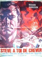 L'uomo del colpo perfetto - French Movie Poster (xs thumbnail)
