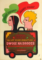 Two for the Road - Polish Movie Poster (xs thumbnail)