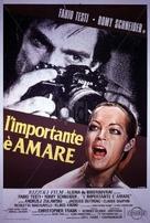 L'important c'est d'aimer - Italian Movie Poster (xs thumbnail)