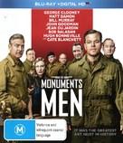 The Monuments Men - Australian Blu-Ray cover (xs thumbnail)
