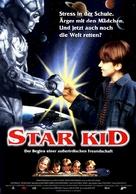 Star Kid - German Movie Poster (xs thumbnail)