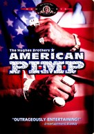 American Pimp - DVD cover (xs thumbnail)