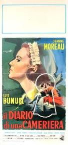 Le journal d'une femme de chambre - Italian Movie Poster (xs thumbnail)