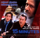 15 Minutes - British poster (xs thumbnail)