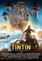 The Adventures of Tintin: The Secret of the Unicorn - Spanish Movie Poster (xs thumbnail)
