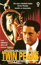 Twin Peaks: Fire Walk with Me - Spanish VHS movie cover (xs thumbnail)