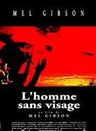 The Man Without a Face - French Movie Poster (xs thumbnail)