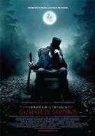 Abraham Lincoln: Vampire Hunter - Argentinian Movie Poster (xs thumbnail)