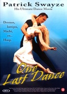 One Last Dance - Dutch poster (xs thumbnail)