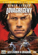 A Knight's Tale - Hungarian Movie Cover (xs thumbnail)