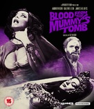 Blood from the Mummy's Tomb - British Blu-Ray movie cover (xs thumbnail)