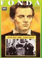 Young Mr. Lincoln - DVD movie cover (xs thumbnail)