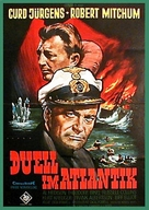 The Enemy Below - German Movie Poster (xs thumbnail)