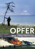 Offret - German Movie Cover (xs thumbnail)