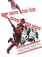 Un minuto per pregare, un instante per morire - French Movie Poster (xs thumbnail)