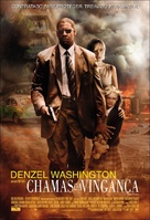 Man On Fire - Brazilian Movie Poster (xs thumbnail)