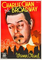 Charlie Chan on Broadway - Swedish Movie Poster (xs thumbnail)