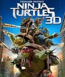 Teenage Mutant Ninja Turtles - Blu-Ray cover (xs thumbnail)
