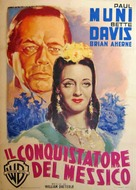 Juarez - Italian Movie Poster (xs thumbnail)